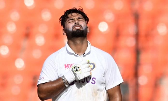 Cricket Image for Twitter Reaction On Rishabh Pant Century