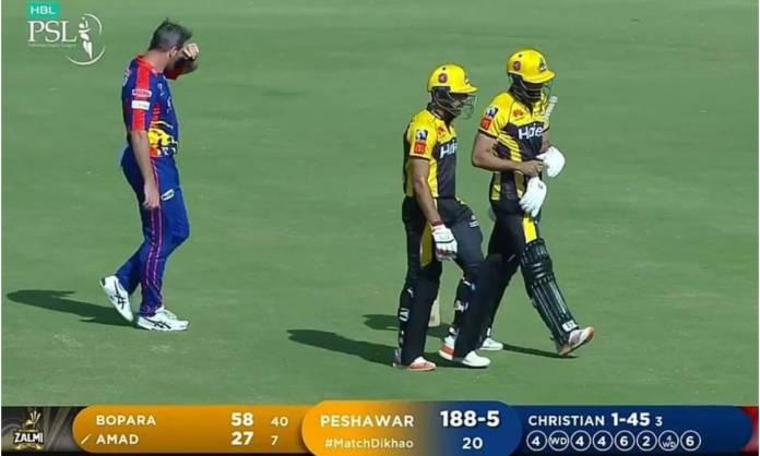 Cricket Image for एक ओवर में 32 रन ठोककर अमाद ने रचा इतिहास, 25 साल के खिलाड़ी ने क्रिस्चियन की उधे