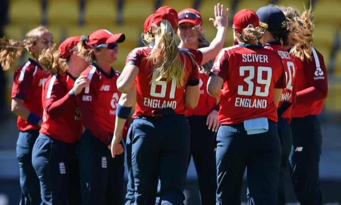 Cricket Image for England Womens Team Wins By 6 Wickets Against New Zealand At T20 Cricket