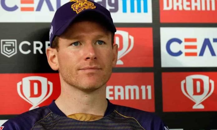 Cricket Image for इयोन मोर्गन हार के पंच के बाद हुए निराश,कहा टूर्नामेंट में आगे बढ़ने के लिए बड़े न