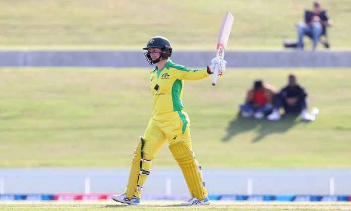 Cricket Image for Australia Womens Team Defeated New Zealand By 71 Runs By Rachel Haynes Innings