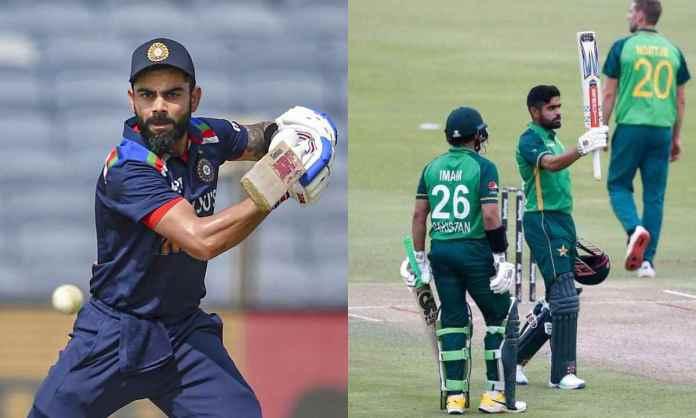 Cricket Image for विराट का परछाई की तरह पीछा कर रहे हैं बाबर आज़म, आईसीसी वनडे रैंकिंग में कोहली की