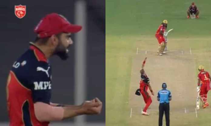 Cricket Image for VIDEO : यूनिवर्स बॉस ने उड़ाए विराट और जैमीसन के होश, एक ओवर में 5 चौके लगाकर की त