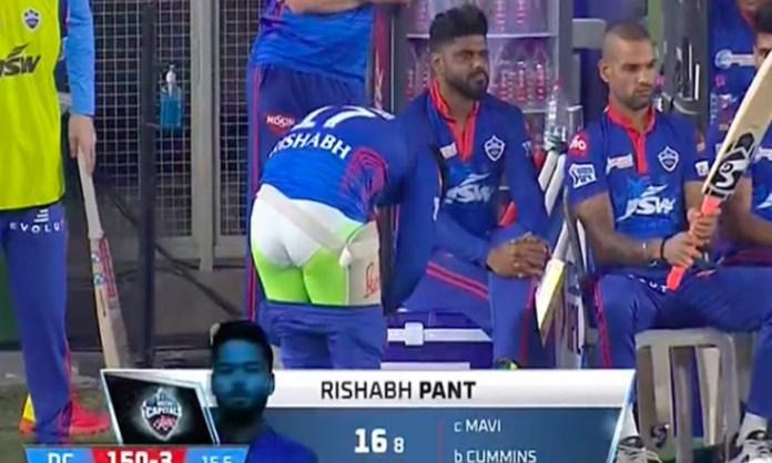Cricket Image for IPL 2021: 'Pantless पंत', ऋषभ पंत को बिना पैंट के देखकर आने लगे ऐसे कमेंट