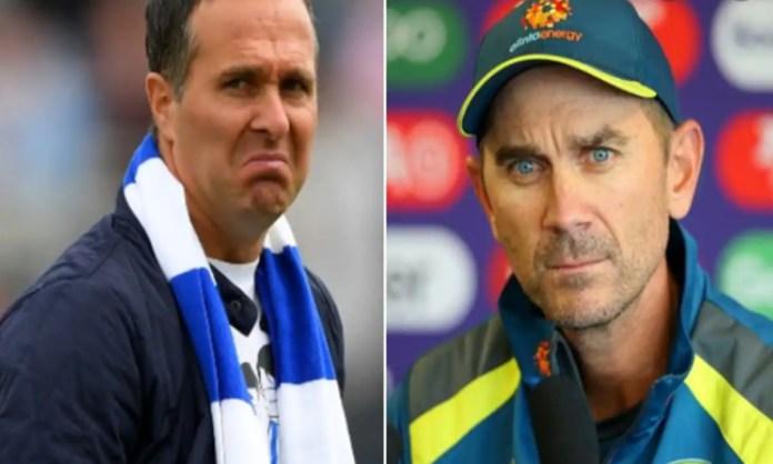 Cricket Image for 'भारत की तीसरे प्लेइंग XI से हारने में शर्म कैसी', माइकल वॉन ने उड़ाया लैंगर का मज