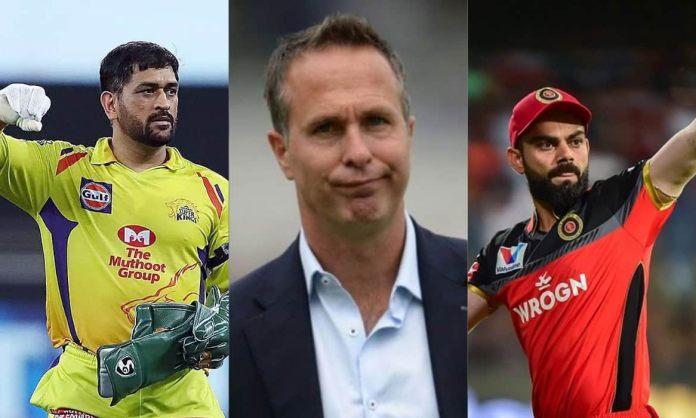 Michael Vaughan picks best captain between Dhoni and Kohli