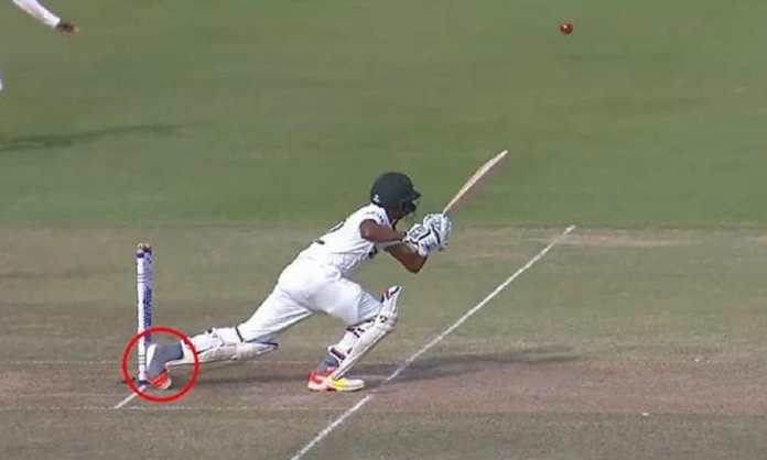 VIDEO Batsman loses his shoe in one of Test cricket's strangest ever dismissals