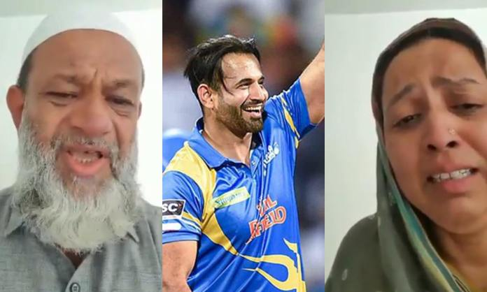 Cricket Image for Former Indian Cricketer Irfan Pathan Extra Marital Relations Allegation Video Vira