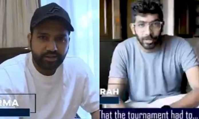 Cricket Image for WATCH : रोहित की पलटन ने शेयर किया इमोशनल वीडियो, विदाई संदेश देते हुए खिलाड़ी भी