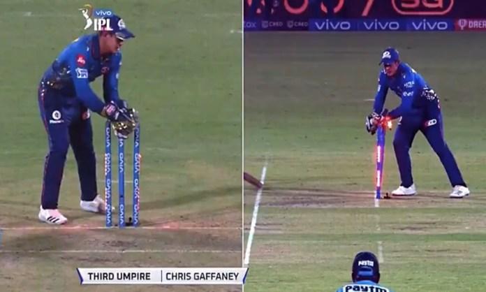 Cricket Image for VIDEO: क्विंटन डी कॉक की चतुराई काम ना आई, रनआउट को लेकर कंफ्यूज हुआ थर्डअंपायर