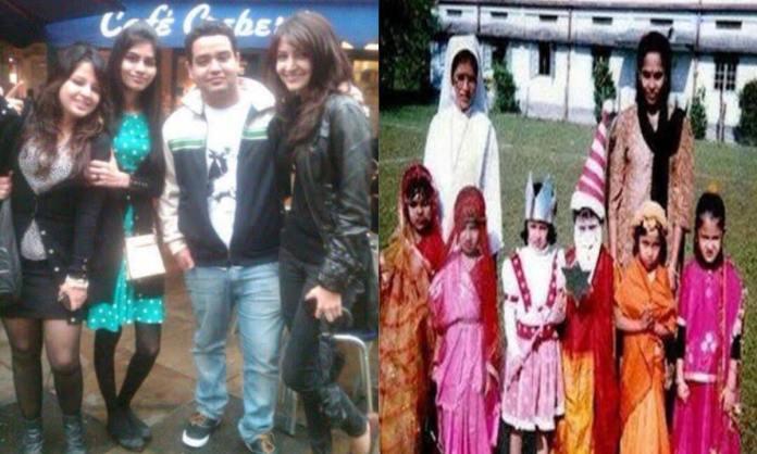 Cricket Image for धोनी की पत्नी साक्षी और कोहली की वाइफ अनुष्का निकलीं बचपन की दोस्त, 2013 में दोनों