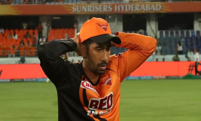 Cricket Image for Wriddhiman Saha Made A Special Appeal To The People