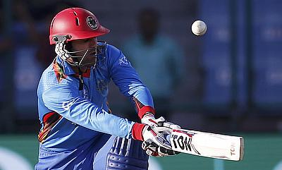 Mohammad Nabi played a vital knock for Afghanistan