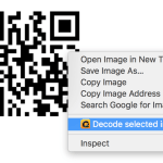 Scan QR Code while Browsing