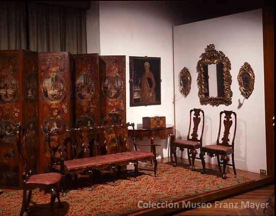 La coleccin de mobiliario del Museo Franz Mayer  Diseo