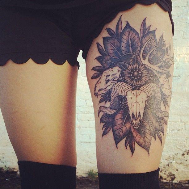 Sexys Tatuajes En Las Piernas Que Enamoran A Cualquiera Adulto