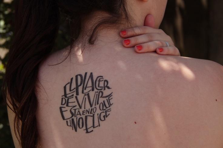10 Tipografías Para Hacerte El Tatuaje Perfecto Diseño Diseño
