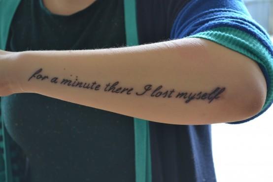 20 Frases De Canciones Que Son Perfectas Para Tatuarse Diseño Diseño