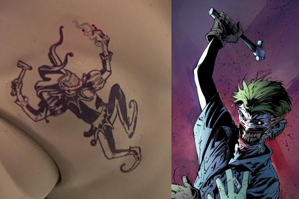 El Significado De Los Tatuajes Del Joker Diseño Diseño