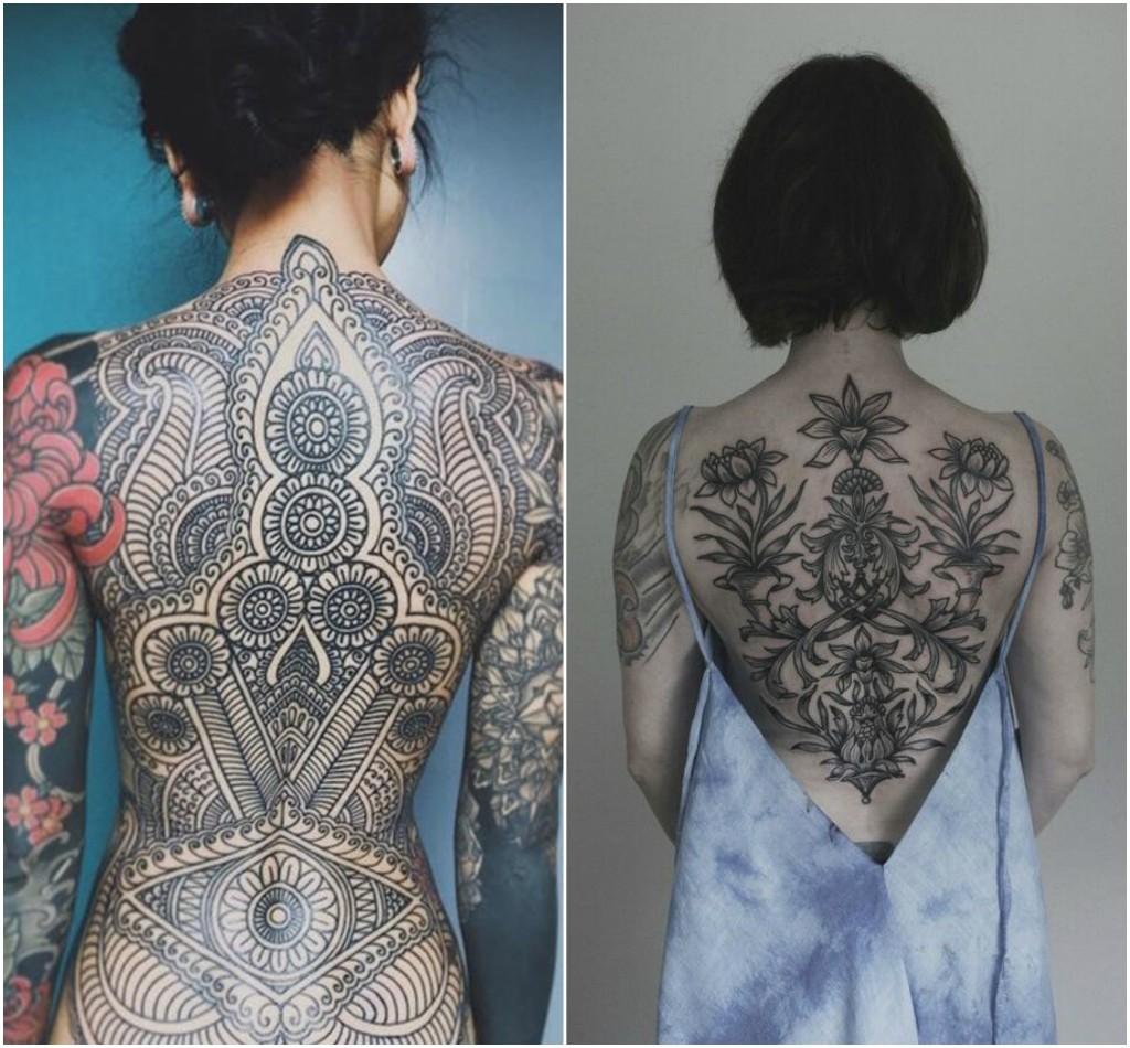 Tatuajes En La Espalda Que Las Mujeres Amarán Diseño Diseño