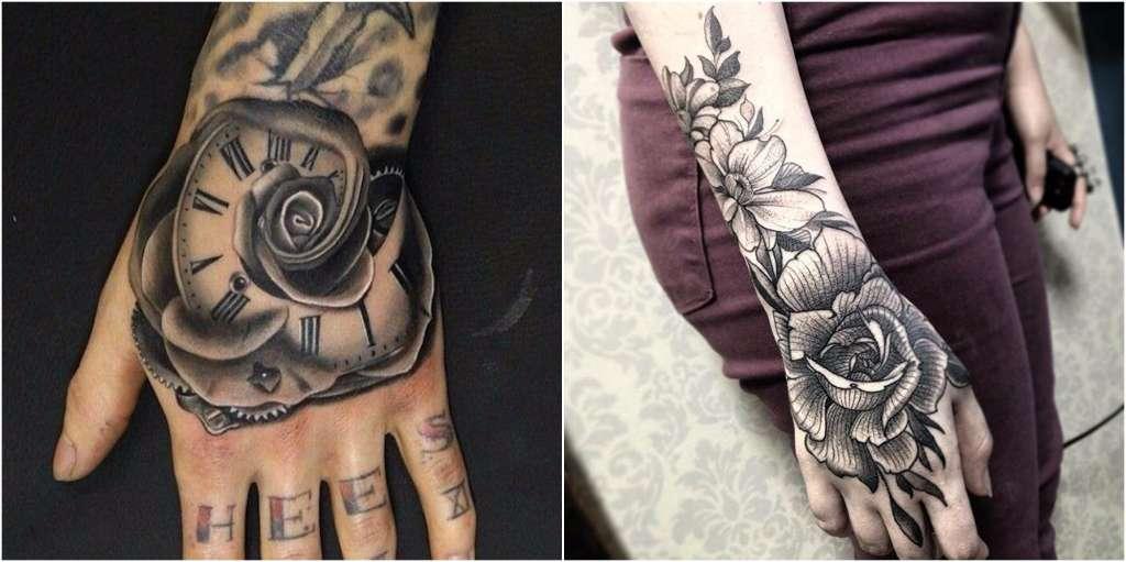 Tatuajes En Las Manos Para Los Irreverentes A Los Que Les Gusta