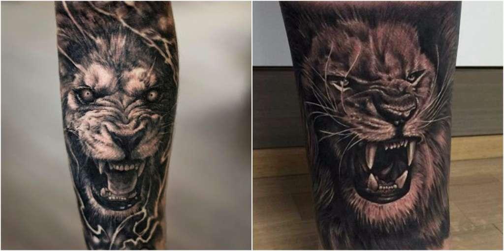 Diseños De Tatuajes De Leones Que Sólo Los Valientes Y De Espíritu