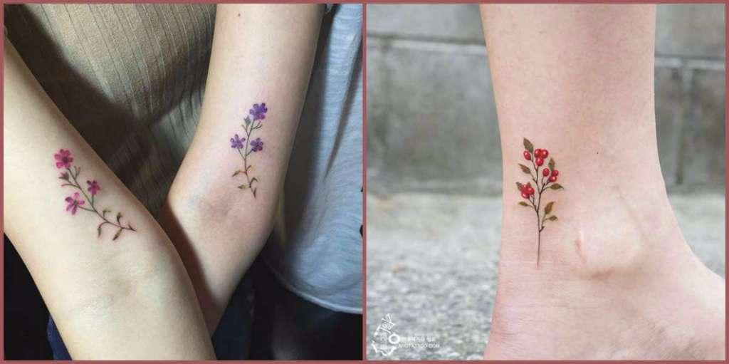 19 Tatuajes De Flores Silvestres Y Su Hermoso Significado Diseño