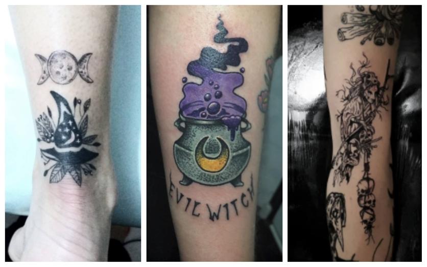 Tatuajes Para Mujeres Que Adoran Su Alma De Bruja