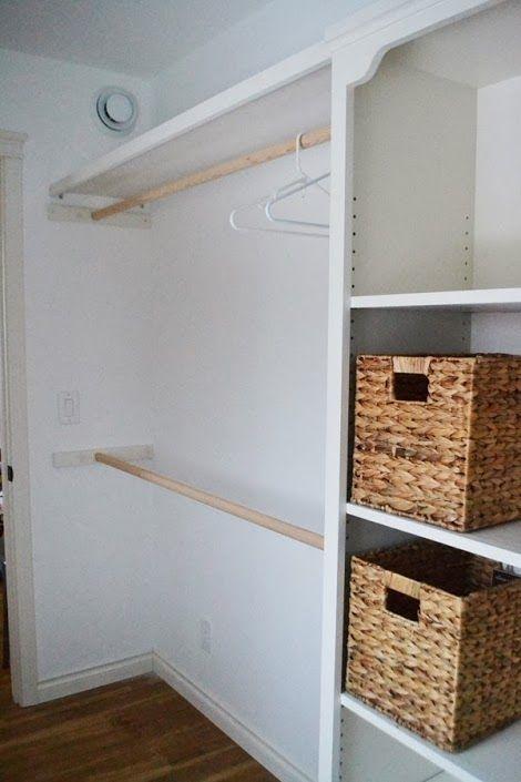Cmo hacer un closet sin gastar  Diseo