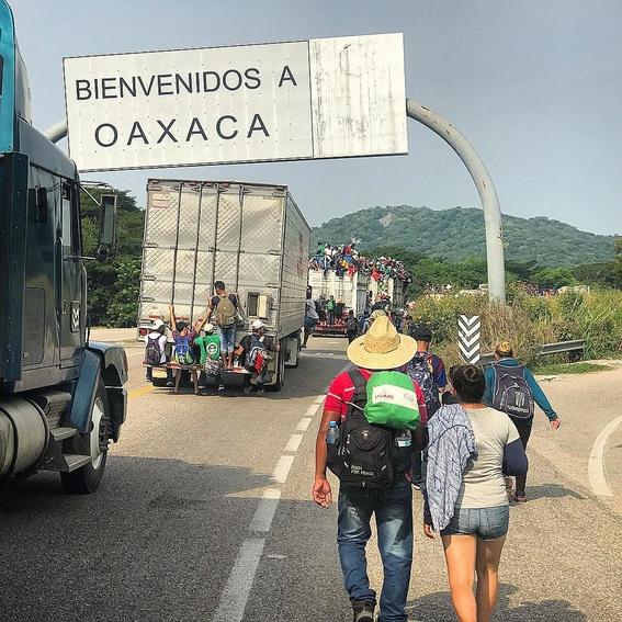 life inside the migrant caravan 1