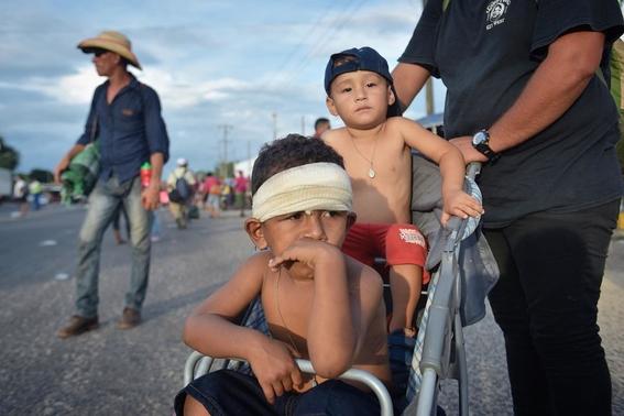 life inside the migrant caravan 4