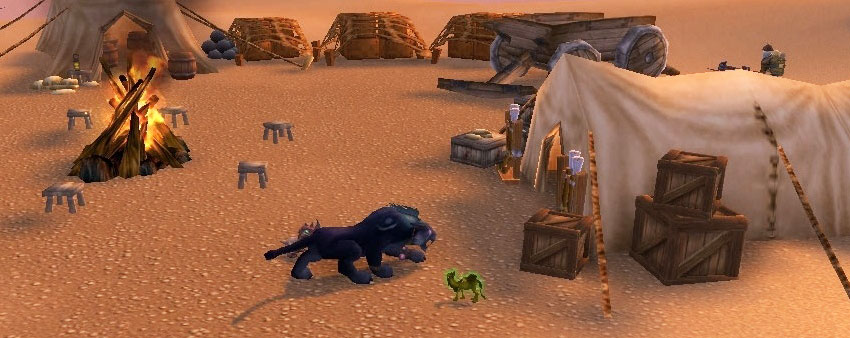 mysterious camel figurine-slightly north of temple of uldum