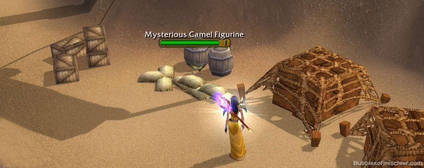 schnottz landing1 Mysterious Camel Figurine Guide