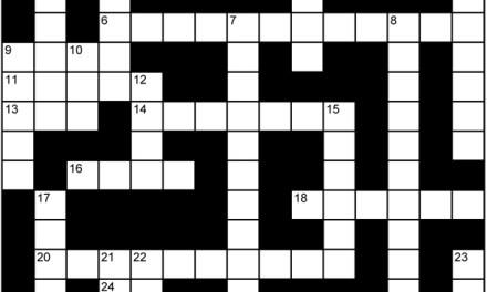 Bubblicious Crossword
