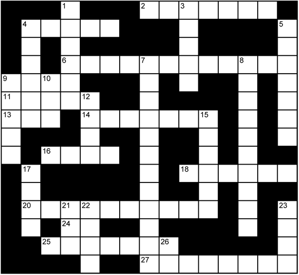 Bubblicious Crossword