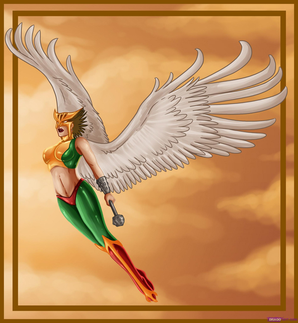 Hawkgirl by DragoArt