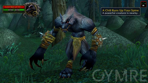 Lost Son of Arugal Silverpine Forest Rares