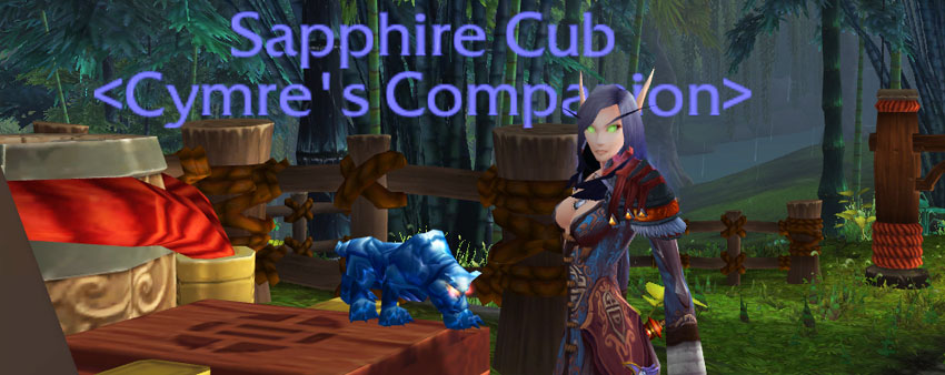 Sapphire Cub - jewelcrating pandaria