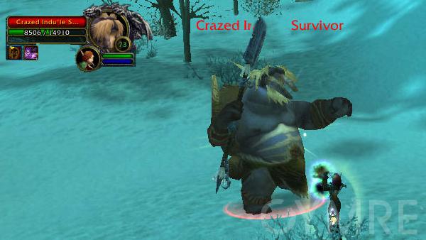 Crazed Indule Survivor Dragonblight Rares