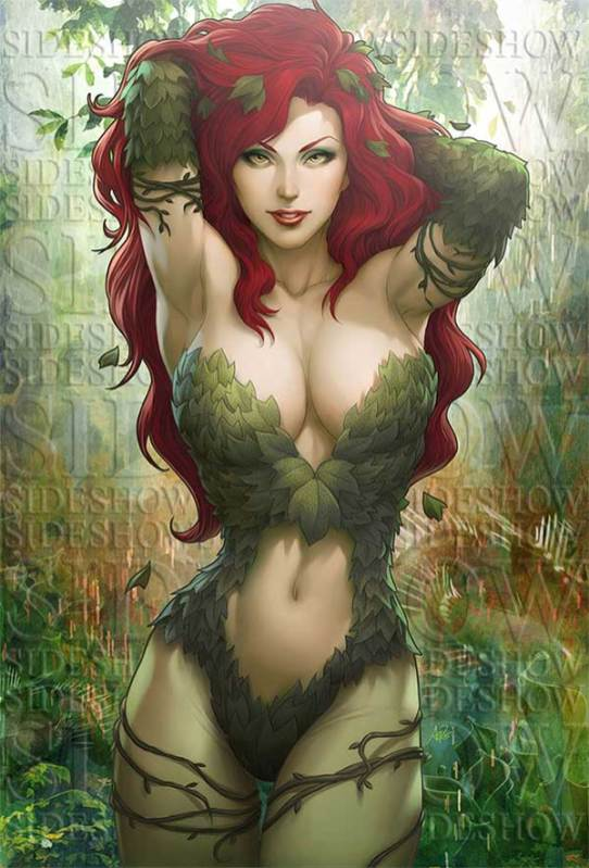 Poison Ivy by Artgerm