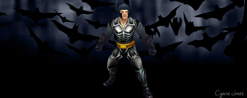 Batman in World of Warcraft
