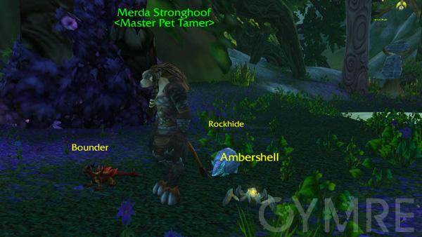 Merda Stronghoof Battling Your First Pet Tamers