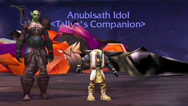 Anubisath Idol