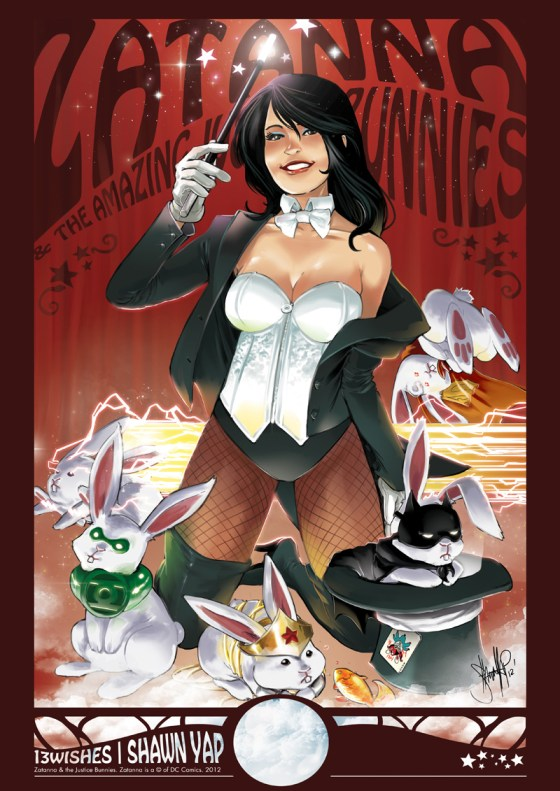 Zatanna by Shawn Yap