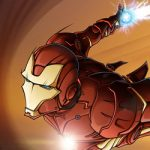 Iron Man by Pnutink