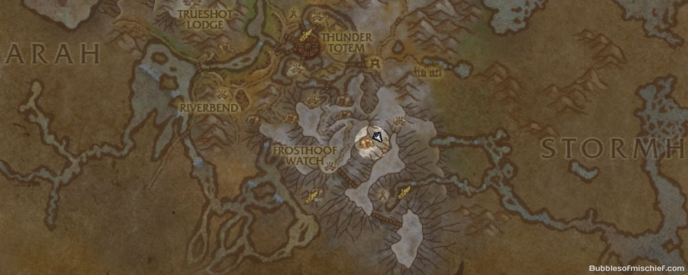 Ambershardmap
