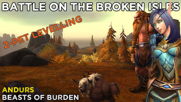 Andurs2 Power-Levelling on the Broken Isles
