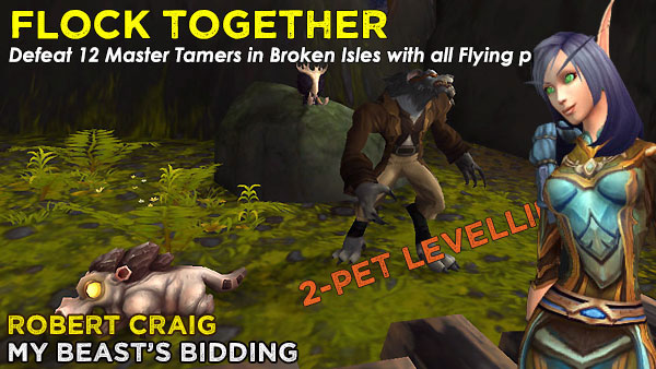 FlockRobert2 Power-Levelling on the Broken Isles