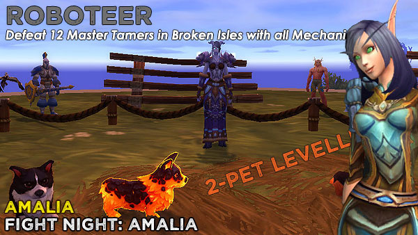 RoboteerAmalia2 Power-Levelling on the Broken Isles