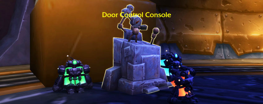 Door Console - Gnomeregan Pet Battle Dungeon